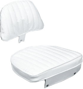 ECONOMY HELMSMAN SEAT & CUSHION SET (#114-CU10702D) - Click Here to See Product Details