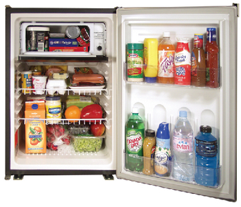 REFRIGERATOR/FREEZER COMBINATION 3.1 CU. FT. AC/DC (#121-DE0788B) - Click Here to See Product Details