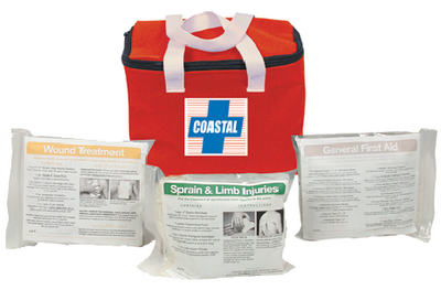 COASTAL FIRST AID KIT (#191-840) - Click Here to See Product Details