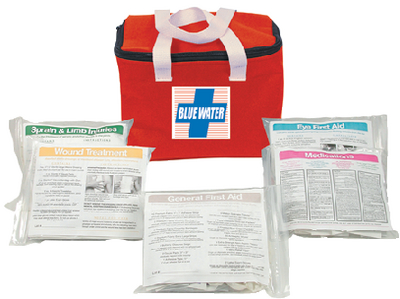 BLUE WATER FIRST AID KIT (#191-841) - Click Here to See Product Details