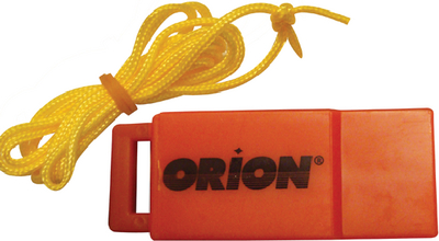 SAFETY WHISTLE WITH LANYARD (#191-976) - Click Here to See Product Details