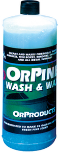 ORPINE WASH & WAX (#198-OPW2) - Click Here to See Product Details