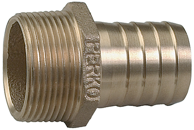 STRAIGHT PIPE TO HOSE ADAPTER (#9-0076DP4PLB) - Click Here to See Product Details