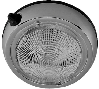 SURFACE MOUNT DOME LIGHTS (#9-0300DP1CHR) - Click Here to See Product Details