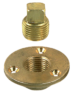 GARBOARD DRAIN PLUGS (#9-0714DP1PLB) - Click Here to See Product Details