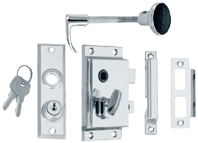 RIM LOCK SET (#9-0918DP0CHR) - Click Here to See Product Details