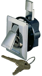 FLUSH LOCK & LATCH (#9-0921DP0CHR) - Click Here to See Product Details