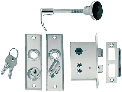 MORTISE LOCK SET (#9-0927DP0CHR) - Click Here to See Product Details