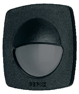 FLUSH UTILITY LIGHT (#9-1044DP1BLK) - Click Here to See Product Details