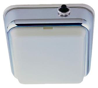 SURFACE MOUNT DOME LIGHT (#9-1260DP2CHR) - Click Here to See Product Details