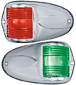 VERTICAL MOUNT SIDE LIGHTS (#9-1264DP0CHR) - Click Here to See Product Details