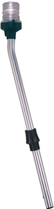 ALL-ROUND STOWAWAY PLUG-IN POLE LIGHT w/BASE (#9-1330DP4CHR) - Click Here to See Product Details