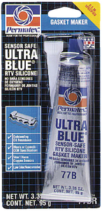 ULTRA BLUE<sup><sup>®</sup></sup> MULTIPURPOSE RTV SILICONE GASKET MAKER (#180-81724) - Click Here to See Product Details