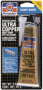 ULTRA COPPER<sup><sup>®</sup></sup> HI-TEMP RTV SILICONE GASKET MAKER (#180-81878) - Click Here to See Product Details