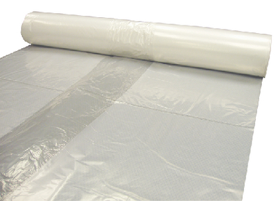 4 MIL CLEAR PLASTIC SHEETING (#28-CF0410C) - Click Here to See Product Details