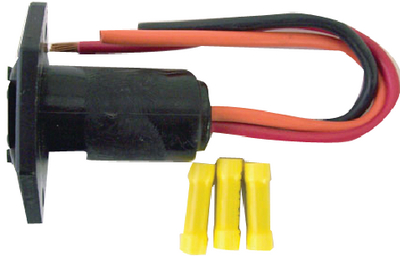 OEM RETROFIT TROLLING MOTOR RECEPTACLE & PLUG (#750-490) - Click Here to See Product Details