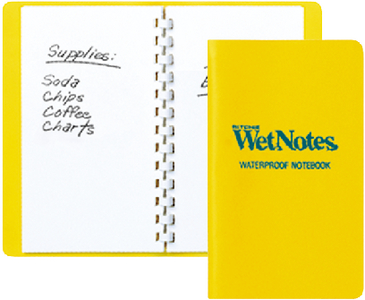 WETNOTES<sup>&reg;</sup> NOTEBOOK (#128-W50) - Click Here to See Product Details