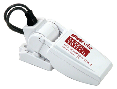 SUPERSWITCH<sup>TM</sup> FLOAT SWITCH (#29-37A) - Click Here to See Product Details