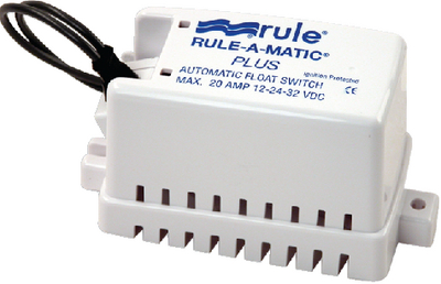 RULE-A-MATIC<sup>&reg;</sup> PLUS<sup>TM</sup> FLOAT SWITCH (#29-40A) - Click Here to See Product Details