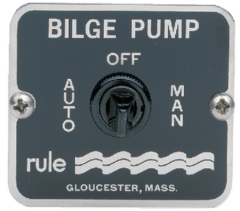 3-WAY BILGE PANEL SWITCH (#29-45) - Click Here to See Product Details