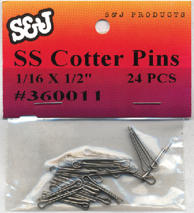 COTTER PINS (#8-360271) - Click Here to See Product Details