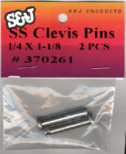CLEVIS PINS (#8-370621) - Click Here to See Product Details
