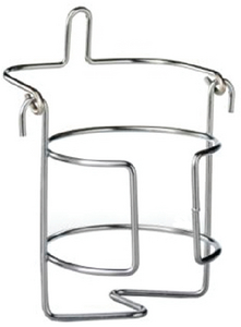 STAINLESS STEEL DRINK-A-LONG DRINK HOLDER (#8-960026) - Click Here to See Product Details