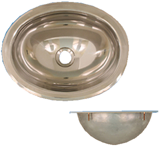 STAINLESS STEEL BASIN - MIRROR FINISH (#390-10280) - Click Here to See Product Details