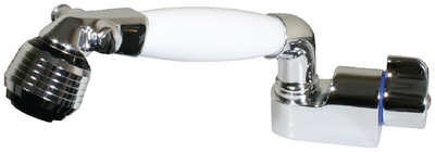 COLD WATER SHOWER WITH AJUSTABLE AERATOR  (#390-14412) - Click Here to See Product Details