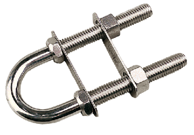 BOW EYE - STAINLESS STEEL (#354-0800551) - Click Here to See Product Details