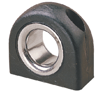 NYLON FAIRLEAD WITH STAINLESS INSERT (#354-082615) - Click Here to See Product Details