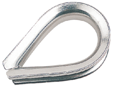 STAINLESS STEEL HEAVY DUTY THIMBLE (#354-170008) - Click Here to See Product Details