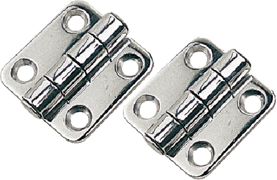 STAINLESS STEEL BUTT HINGES (#354-2015801) - Click Here to See Product Details