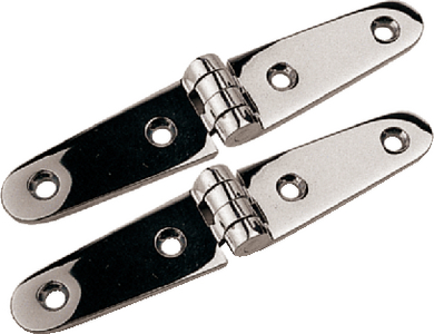 STAINLESS STRAP HINGES (#354-2054001) - Click Here to See Product Details