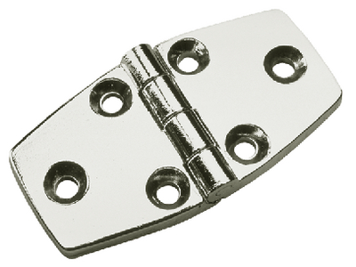 CHROME PLATED ZINC DOOR HINGE  (#354-2065301) - Click Here to See Product Details