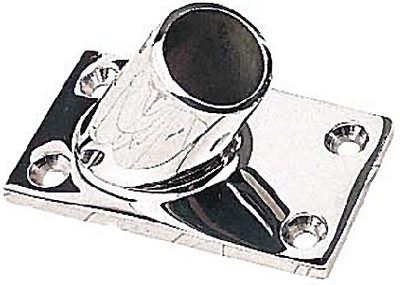 RECTANGULAR RAIL BASES - STAINLESS (#354-2816011) - Click Here to See Product Details