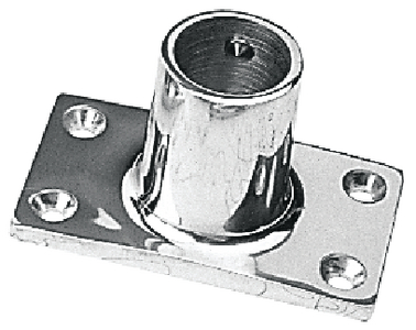 RECTANGULAR RAIL BASES - STAINLESS (#354-2819001) - Click Here to See Product Details