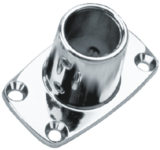 RECTANGULAR BASE BASES - CHROME ZNC (#354-2861901) - Click Here to See Product Details