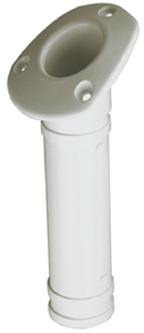 PLASTIC FLUSH MOUNT ROD HOLDER (#354-3251611) - Click Here to See Product Details
