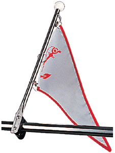 RAIL MOUNT FLAG POLE (#354-3271201) - Click Here to See Product Details