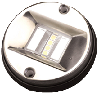 LED TRANSOM LIGHT-ROUND (#354-4000601) - Click Here to See Product Details