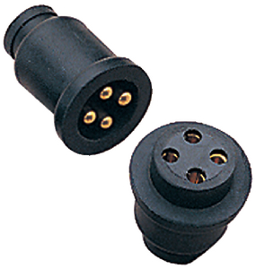 POLARIZED MOLDED ELECTRICAL CONNECTOR (#354-4261641) - Click Here to See Product Details