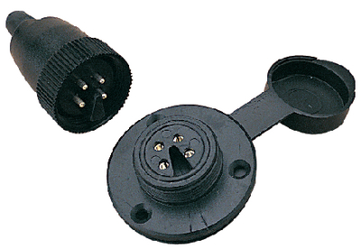 POLARIZED 4-PIN ELECTRICAL CONNECTOR (#354-4262341) - Click Here to See Product Details