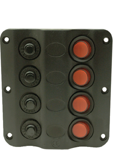 LED SWITCH PANEL (#50-12321) - Click Here to See Product Details