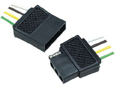 TRAILER CONNECTOR - 4 PIN (#50-13871) - Click Here to See Product Details