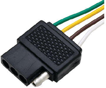 TRAILER CONNECTOR - 4 PIN (#50-13901) - Click Here to See Product Details