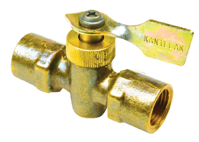BRASS TWO WAY FUEL LINE VALVE (#50-20721) - Click Here to See Product Details