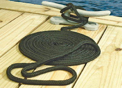 DOUBLE BRAID NYLON DOCK LINE (#50-39691) - Click Here to See Product Details
