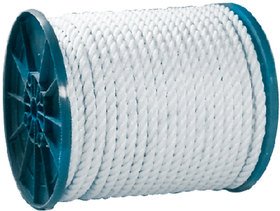 3-STRAND TWISTED NYLON ROPE SPOOL (#50-40820) - Click Here to See Product Details