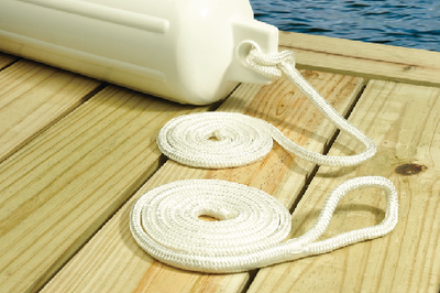 DOUBLE BRAIDED NYLON FENDER LINE (#50-40821) - Click Here to See Product Details